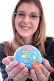 Mulher - negócio, professor, advogado, estudante, etc. Imagens de Stock Royalty Free