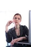 Mulher - negócio, professor, advogado, estudante, mulher Imagens de Stock Royalty Free