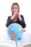 Mulher - negócio, professor, advogado, estudante, mulher Imagens de Stock