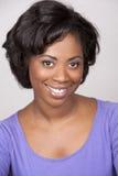 Mulher negra fotografia de stock