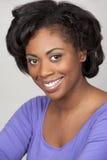 Mulher negra fotografia de stock royalty free