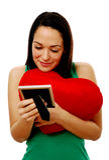 Mulher no amor Imagens de Stock Royalty Free