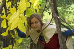 Mulher no parque Fotografia de Stock Royalty Free