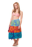 Mulher no roupa de banho Imagem de Stock