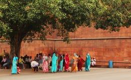 Mulher no sari Imagem de Stock