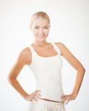 Mulher no sportswear imagem de stock royalty free