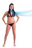 Mulher no swimwear Fotos de Stock Royalty Free