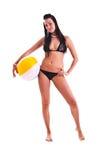 Mulher no swimwear Fotografia de Stock