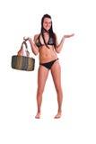 Mulher no swimwear Fotografia de Stock Royalty Free