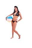 Mulher no swimwear Foto de Stock