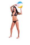 Mulher no swimwear Imagens de Stock