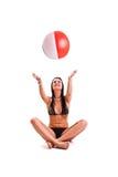 Mulher no swimwear Imagem de Stock Royalty Free