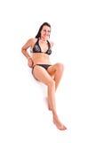 Mulher no swimwear Imagem de Stock