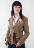 Mulher no terno Imagens de Stock Royalty Free