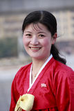 Mulher norte-coreana Fotos de Stock