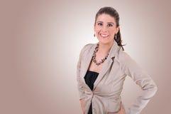 Mulher nova à moda Imagem de Stock Royalty Free