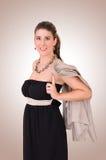 Mulher nova à moda Fotografia de Stock
