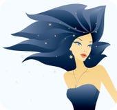 Mulher nova à moda bonita Fotos de Stock Royalty Free