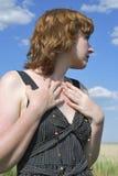 Mulher nova Fotografia de Stock