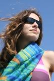 Mulher nova Fotografia de Stock Royalty Free