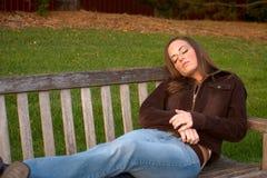 Mulher nova 18 Imagens de Stock Royalty Free