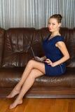 Mulher nova. Imagem de Stock Royalty Free