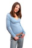 Mulher nova  Foto de Stock Royalty Free