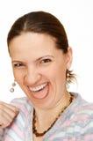 A mulher nova Foto de Stock