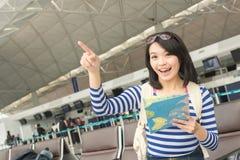 Mulher nova asiática fotografia de stock royalty free