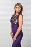 Mulher nova atrativa Imagem de Stock