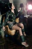 Mulher nova atrativa Foto de Stock