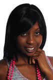 Mulher nova atrativa do african-american Imagens de Stock Royalty Free