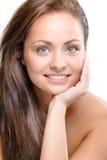 Mulher nova - beleza natural Imagem de Stock Royalty Free