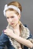 Mulher nova bonita Imagem de Stock