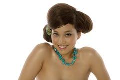 Mulher nova bonita fotografia de stock