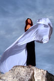 Mulher nova bonita Imagem de Stock Royalty Free