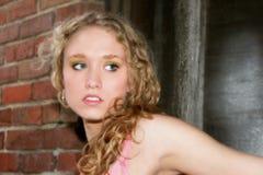 Mulher nova bonita foto de stock royalty free