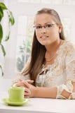 Mulher nova bonita Fotos de Stock