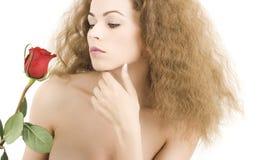 Mulher nova bonita com pele saudável Imagens de Stock Royalty Free
