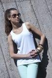 Mulher nova bonita da forma Imagem de Stock Royalty Free