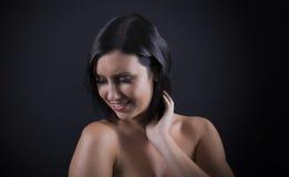 Mulher nova bonita sensual Imagem de Stock