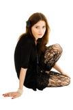 Mulher nova Charming Fotos de Stock Royalty Free