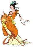 Mulher nova chinesa Fotografia de Stock Royalty Free