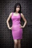 Mulher nova com corpo 'sexy' magro Imagens de Stock Royalty Free