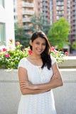 Mulher nova confiável Fotos de Stock Royalty Free