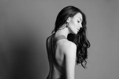 Mulher nova da forma bonita Imagens de Stock Royalty Free