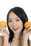 Mulher nova de Ásia Imagens de Stock Royalty Free