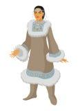 Mulher nova de Chukchi Imagens de Stock