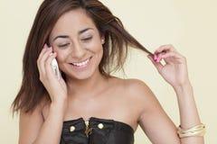Mulher nova de Flirty Fotos de Stock
