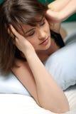Mulher nova deprimida Fotos de Stock